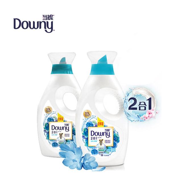 当妮(owny)二合一洗衣液淡雅罗兰700克两瓶装