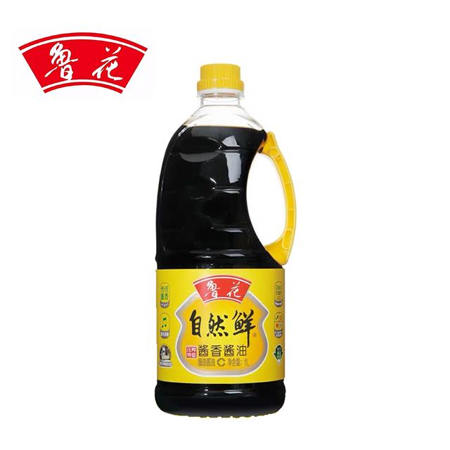 鲁花 自然鲜酱香酱油1L非转基因物理压榨酱油
