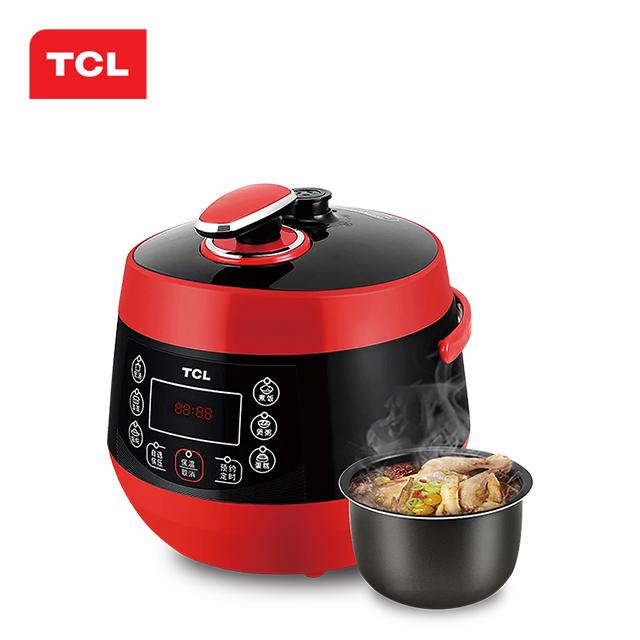 TCL 电饭煲家用多功能电饭煲 玲珑高压煲2L