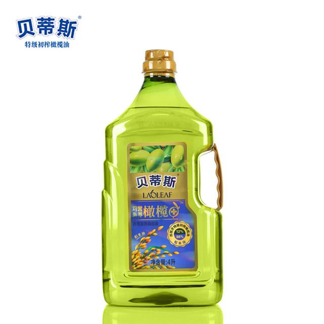 贝蒂斯 更营养更健康 特级初榨 橄榄稻米油4L
