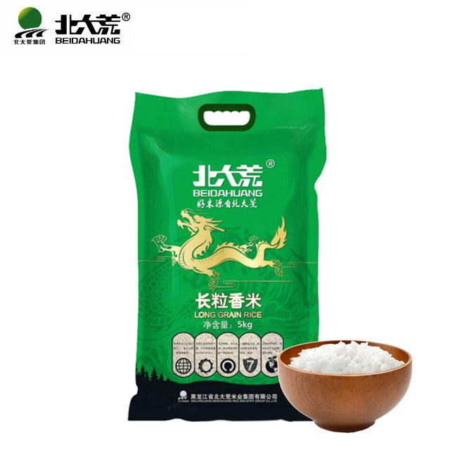 北大荒大米长粒香米5kg东北黑龙江大米
