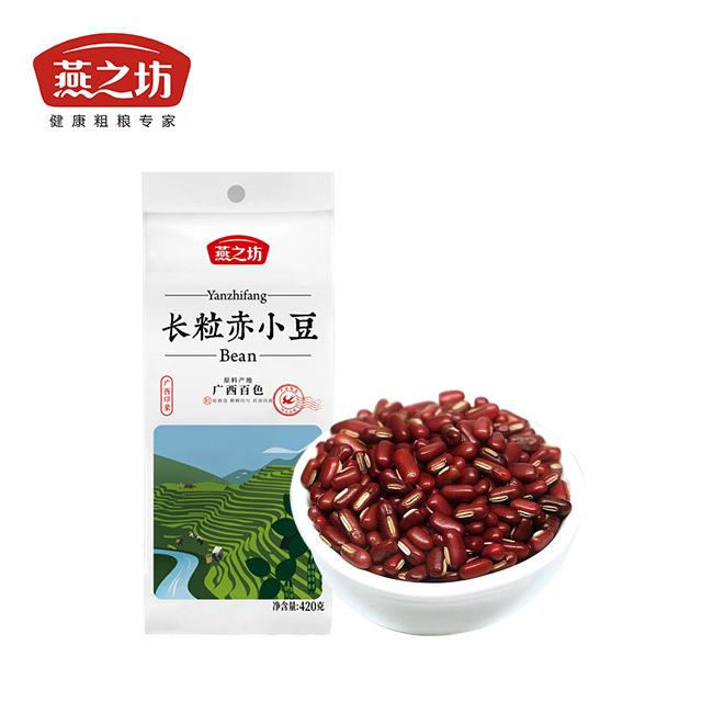 燕之坊 精挑细选颗粒饱满 长粒赤小豆420g