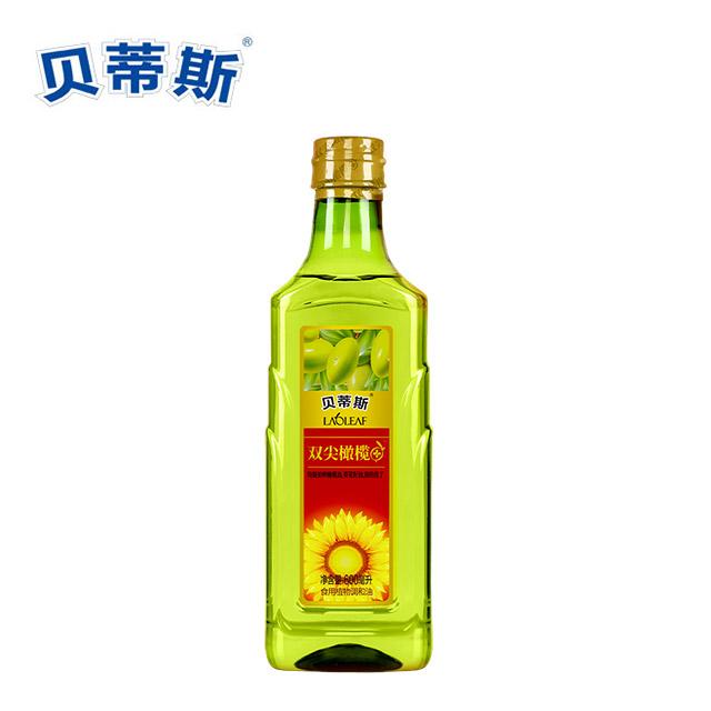 贝蒂斯 橄榄葵花植物调和油 600ml