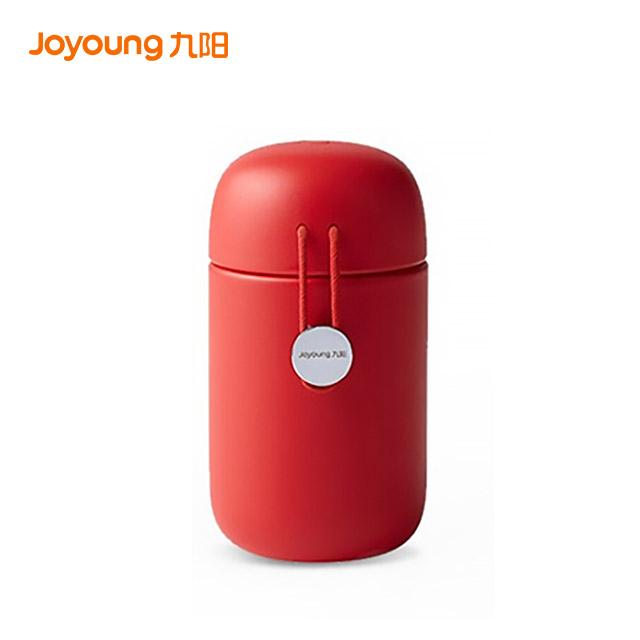 九阳(Joyoung) 保温杯儿童便携316不锈钢小红绳(丹枫红)