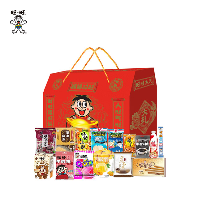 旺旺新春礼盒福禄双旺大礼盒1.68kg
