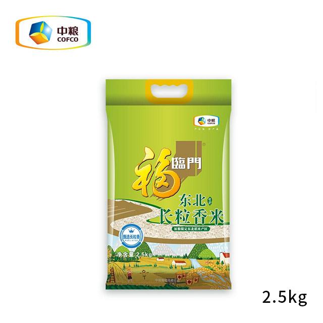 中粮 唯粹东北长粒香米2.5kg
